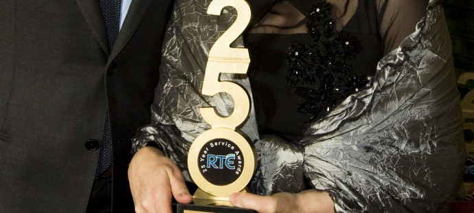 Providing a new look to the RTE long service Awards